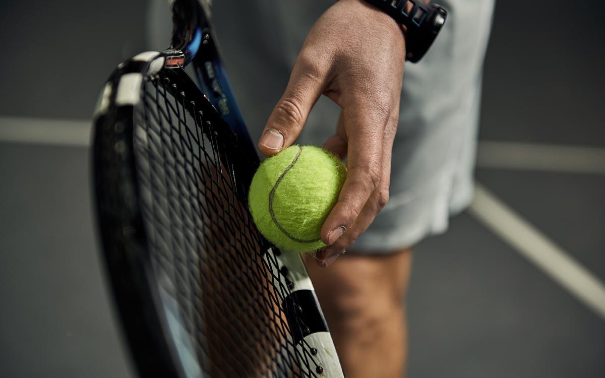 Arrangement Tennis