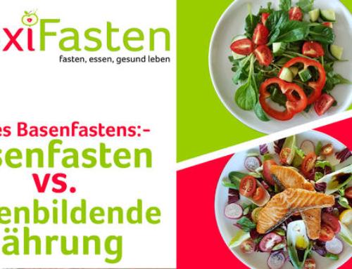 Basenfasten vs. basenbildende Ernährung