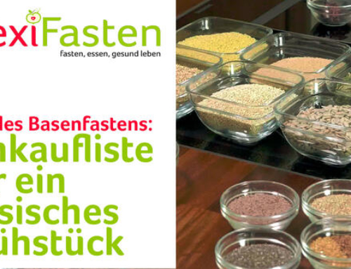 Die wichtigsten Zutaten für das Basenfasten zu Hause