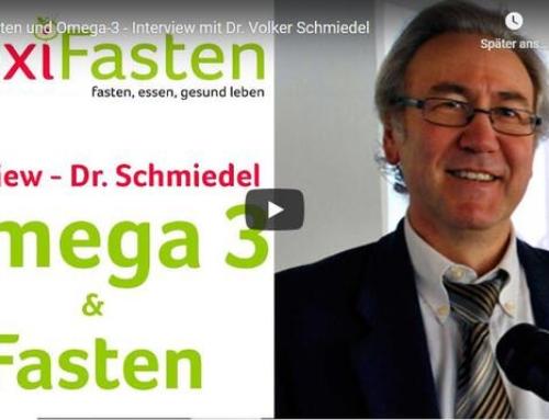 Fasten und Omega-3 – Interview mit Dr. Volker Schmiedel