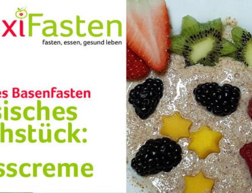 Basisches Frühstück: Nusscreme