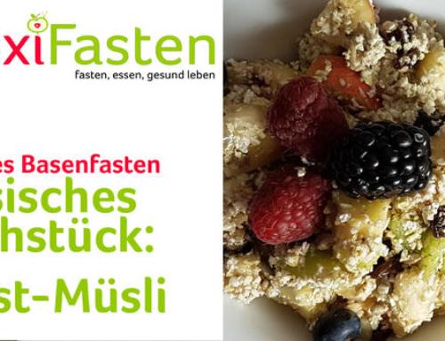 Basisches Frühstück: Obstmüsli
